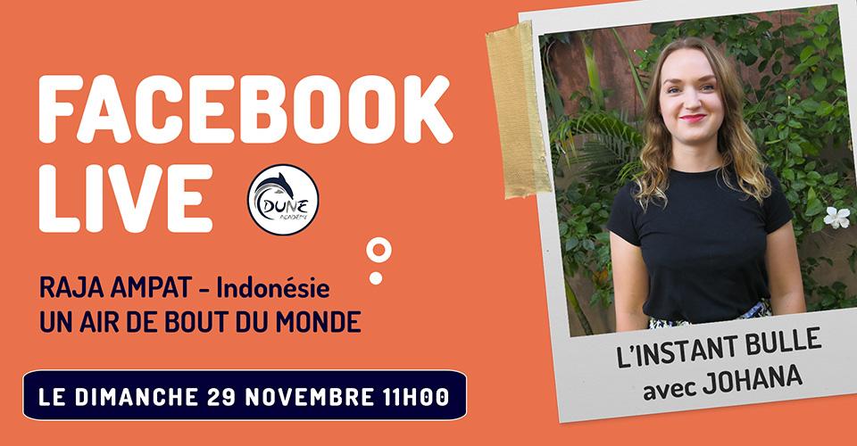 Facebook Live Raja Ampat